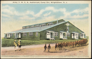 Army Y.M.C.A. auditorium, Camp Dix, Wrightstown, N.J.