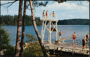 Cleveland Y.M.C.A. North Woods Camp. Temagami, Ontario, Canada