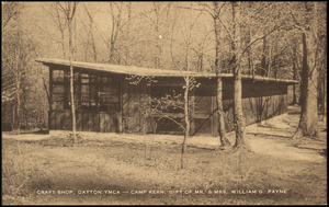 Craft shop, Dayton YMCA - Camp Kern. Gift of Mr. & Mrs. William G. Payne