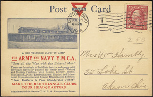 The Army and Navy Y.M.C.A.