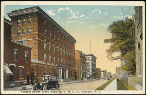 Federal Street west, showing Y.M.C.A., Camden, N.J.