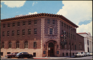 The Armed Services YMCA at 300 San Francisco Street in El Paso, Texas