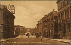 Holly Street, Bellingham, Washington