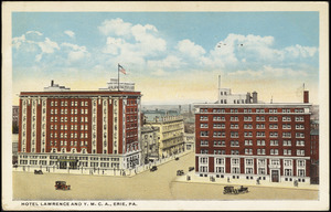Hotel Lawrence and Y.M.C.A., Erie, Pa.