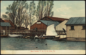 Boat house, Y.M.C.A., Erie, Pa.