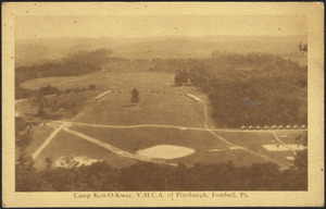 Camp Kon-O-Kwee, Y.M.C.A. of Pittsburgh, Fombell, Pa.