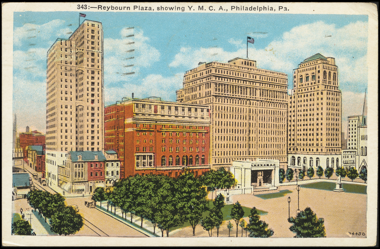 343. Reybourn Plaza, Showing Y.M.C.A., Philadelphia, Pa.