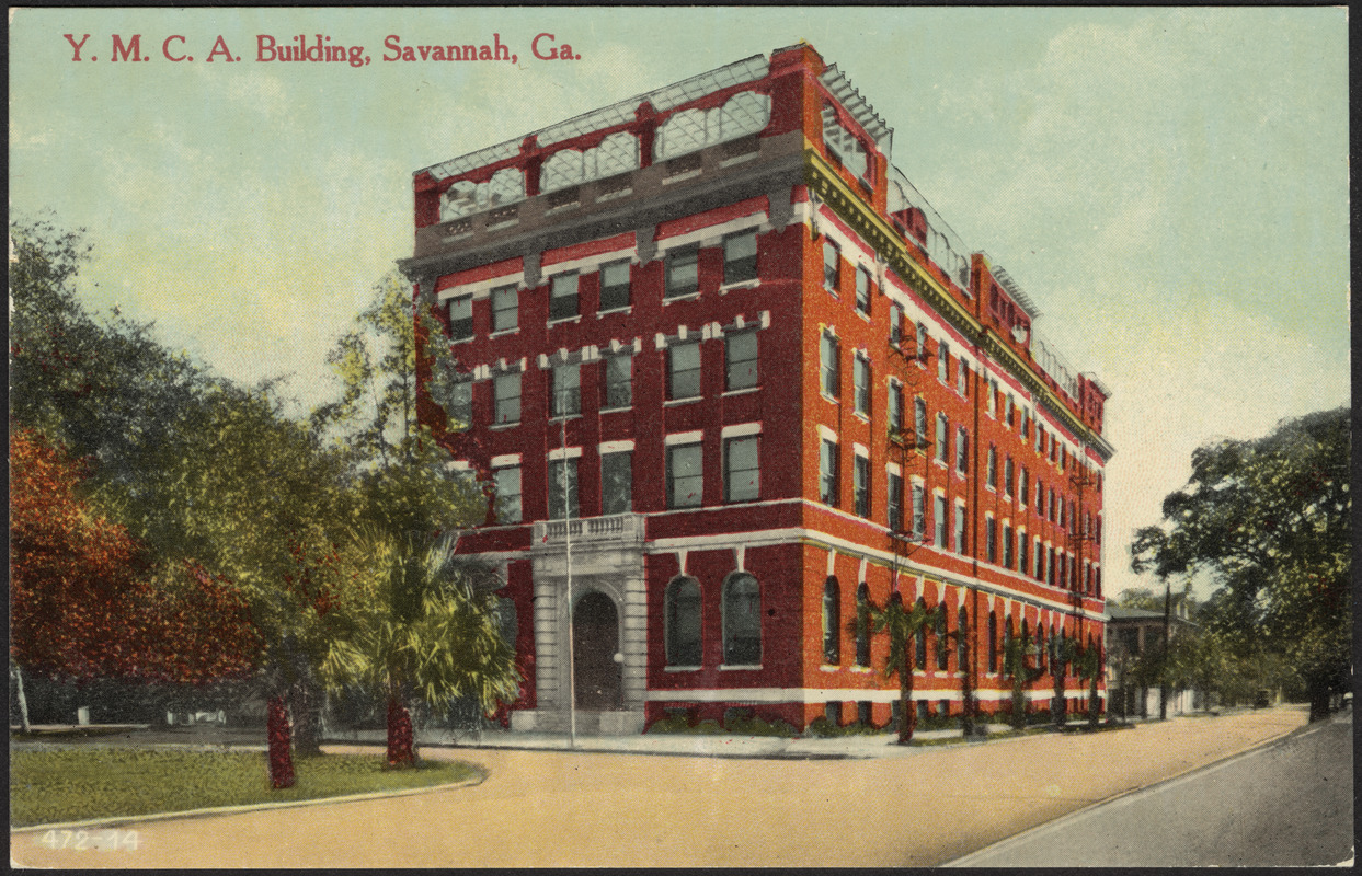 Y.M.C.A. building, Savannah, Ga.