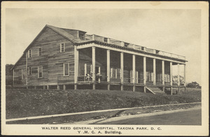 Walter Reed General Hospital. Takoma Park, D.C. Y.M.C.A. building