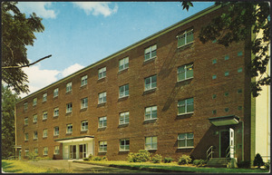 David Allen Reed Hall, men's residence, Springfield College, Springfield, Mass.