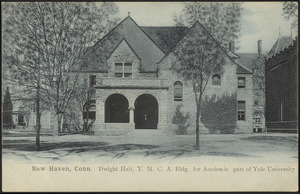 New Haven, Conn. Dwight Hall, Y.M.C.A. bldg. for academic part of Yale University