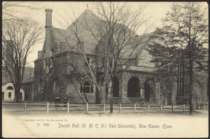 Dwight Hall (Y.M.C.A.) Yale University, New Haven, Conn.