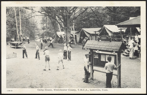 Camp Sloane, Westchester County, Y.M.C.A., Lakeville, Conn.