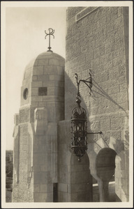 Jerusalem Y.M.C.A. - tower, stair turret