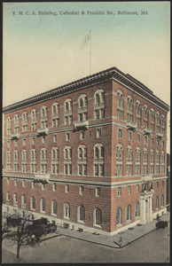 Y.M.C.A. building, Cathedral & Franklin Sts., Baltimore, MD