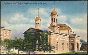 Cathedral and Y.M.C.A. bldg., Baltimore, Maryland