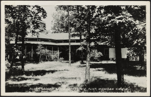 Allen Lodge - Camp Copneconic, Flint, Michigan Y.M.C.A.
