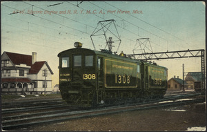Electric engine and R.R. Y.M.C.A., Port Huron, Mich.