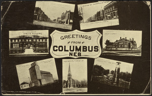 Greetings from Columbus Neb