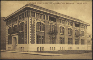 Young Men's Christian Association building. Reno, Nev.