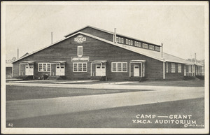Camp - Grant Y.M.C.A. auditorium