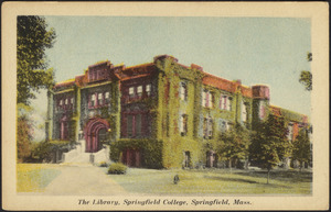 The library, Springfield College, Springfield, Mass.