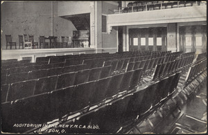 Auditorium in the new Y.M.C.A. bldg, Dayton, O.