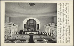 First Church of Christ, Congregational, Springfield, Massachusetts Founded in 1637