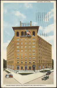 Central building, Young Men's Christian Association, Rochester, N.Y.