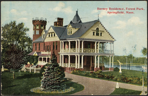Barney Residence, Forest Park, Springfield, Mass.