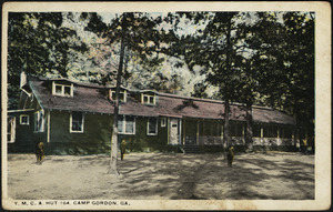 Y.M.C.A. Hut 164, Camp Gordon, Ga.