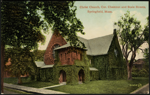 Christ Church, cor. Chestnut and State Streets, Springfield, Mass.