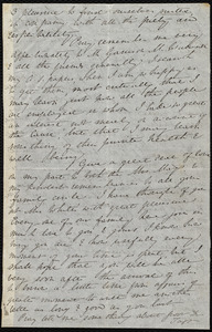 Letter from Anne Warren Weston, Palazzo Albani, Rome, [Italy], to Samuel May, April 29, 1857