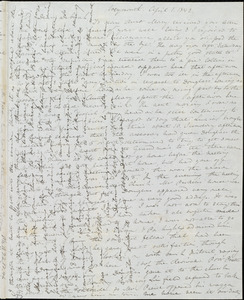 Letter from Anne Warren Weston, Weymouth, [Mass.], to Deborah Weston, April 1, 1842
