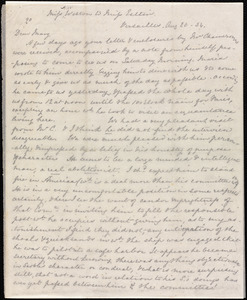 Letter from Anne Warren Weston, Versailles, [France], to Mary Anne Estlin, Aug 20 - [18]56