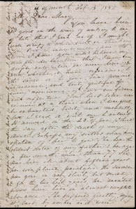 Letter from Anne Warren Weston, Weymouth, [Mass.], to Mary Anne Estlin, Feb. 15, 1852