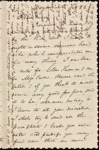 Letter from Anne Warren Weston, Weymouth, [Mass.], to Mary Anne Estlin, Feb. 23, [1852?]