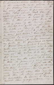 Letter from Anne Warren Weston, Weymouth, [Mass.], to Mary Anne Estlin, April 4, 1852