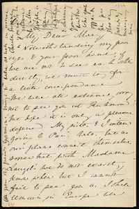 Letter from Anne Warren Weston, 6 Pembroke Hills, Richmond Green S W, to Mary Anne Estlin, Oct. 17, 1866