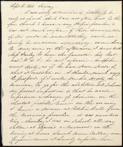 Diary entries by Caroline Weston, Sept. 13, 1835, Sunday, [through Oct. 1835?; and Jan. 22, 1837]