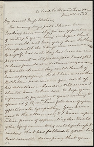 Letter from Mary Anne Estlin, 21 Cecil Street, Strand, London, [England], to Caroline Weston, June 11, 1853