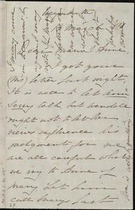 Letter from Deborah Weston, Weymouth, [Mass.], to Maria Weston Chapman and Anne Greene Chapman Dicey, 14 March [18]61