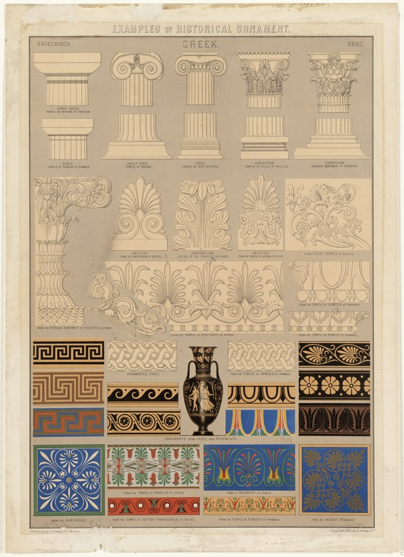 Examples of Historical Ornament, Greek