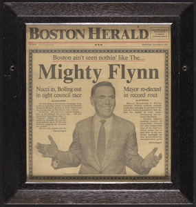 Boston ain't seen nothin' like The. . . Mighty Flynn