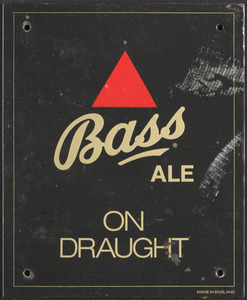 Bass Ale on draught