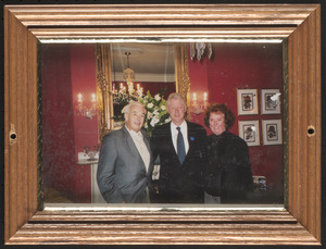Bill Clinton with Ed Phelan and woman