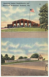 American Legion amphitheatre and municipal auditorium, Gadsden, Ala.