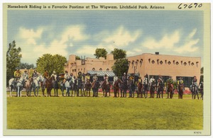 Horseback riding is a favorite pastime at The Wigwam, Litchfield Park, Arizona