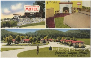 Covered Wagon Motel, Piedmont, South Dakota