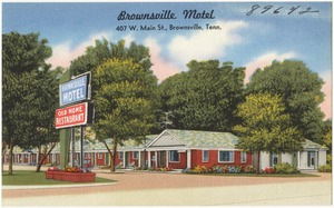 Brownsville Motel, 407 W. Main St., Brownsville, Tenn.